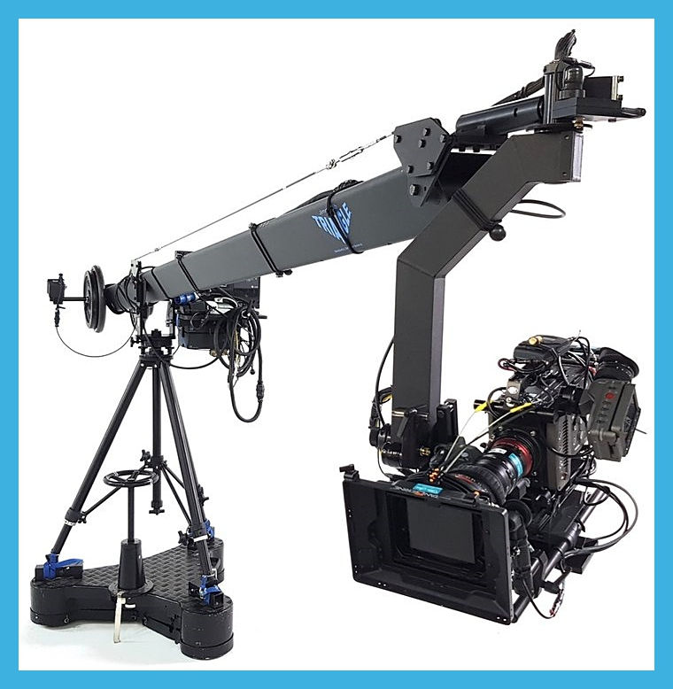 Service Tv and Jimmy Jib service crew camera