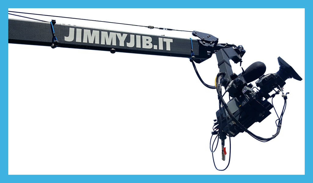 Rental Jimmy jib Triangle Extreme 30 ft in Italy